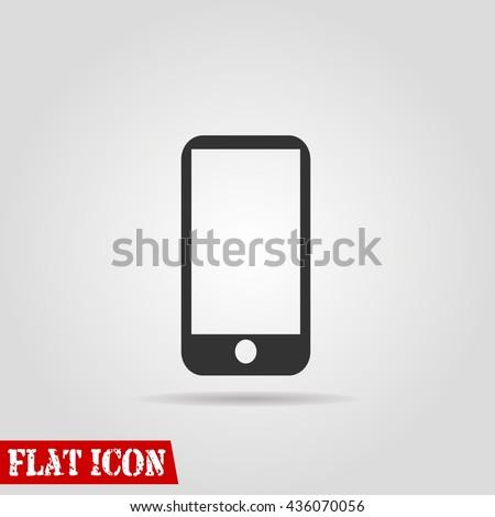 phone icon vector flat sign app ui art logo web jpg jpeg eps