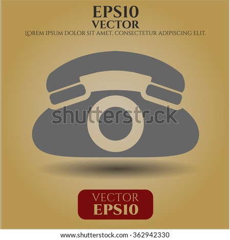Phone icon vector illustration