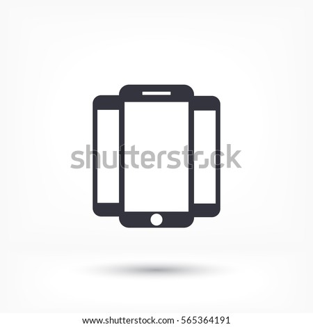 phone icon,vector illustration