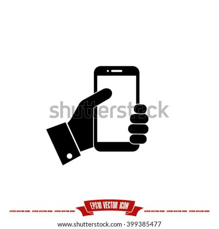 Phone icon vector illustration eps10