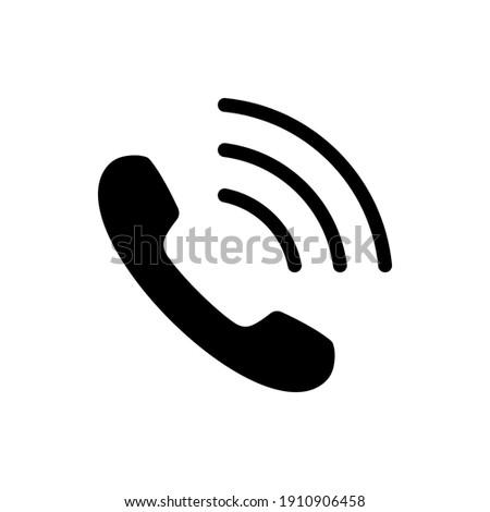 Phone icon vector. telephone symbol vector illustration
