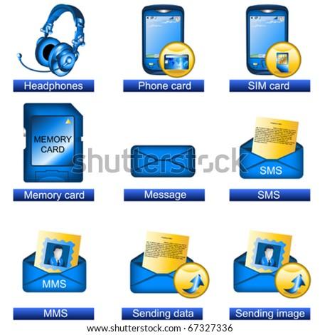 Phone icons 6