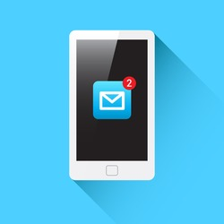 Phone Mail Notification Icon