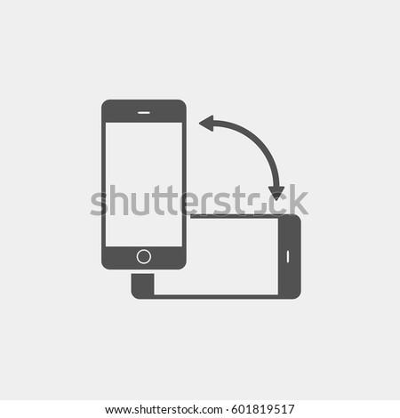 Phone rotate icon
