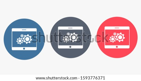 phone settings vector icon settings for online settings vector icon for people vector icon