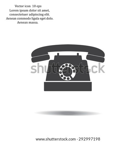 phone symbol  illustration eps