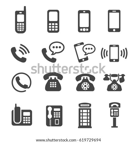 phone telephone icon