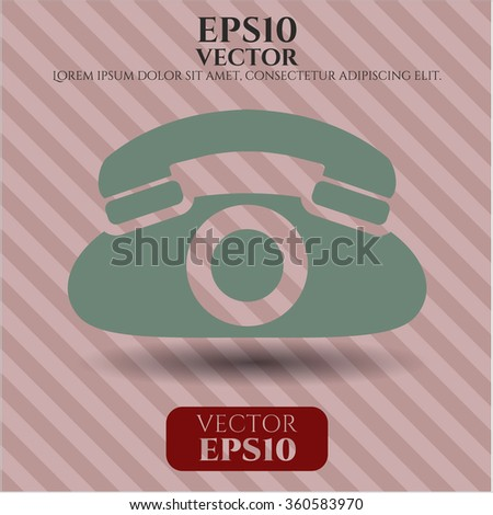 Phone vector icon
