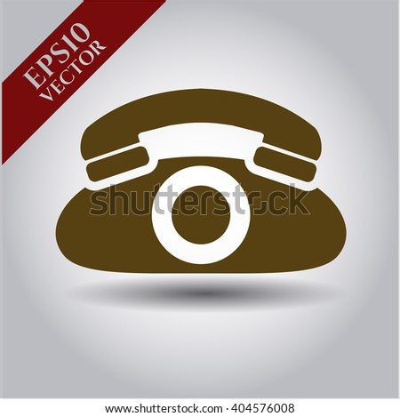 Phone vector icon or symbol