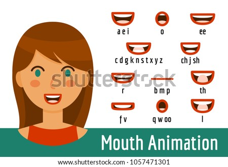 phoneme mouth shapes collection