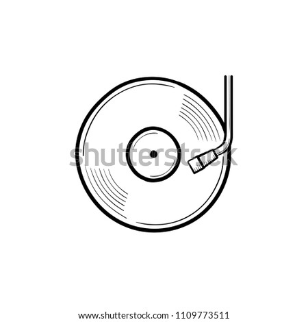 phonograph and turntable hand