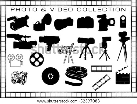 photo and video objects collection