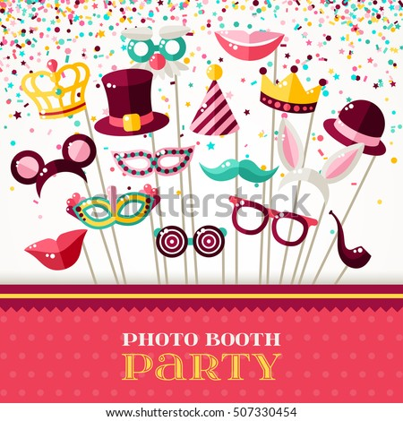 photo booth party invitation...