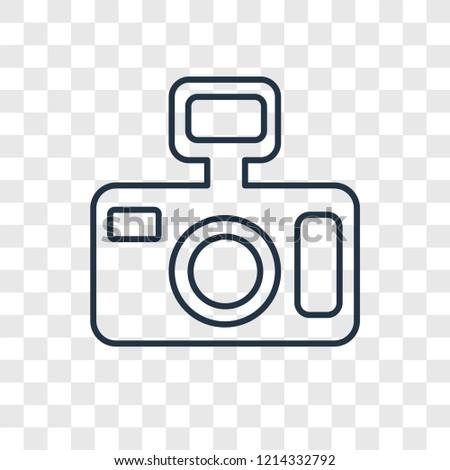 photo camera concept vector