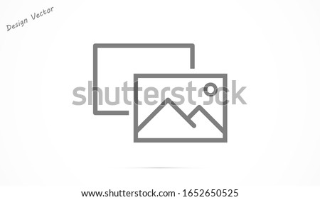 Photo Camera line icon, Photo Camera line icon Modern sign for mobile interface, vector graphics, Photo Camera line icon a linear pattern on a white background, Photo Camera line icon