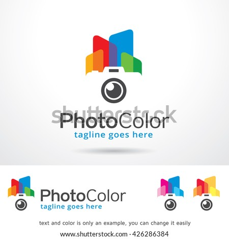 photo color logo template