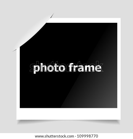 Photo Frame. Clean vector background.