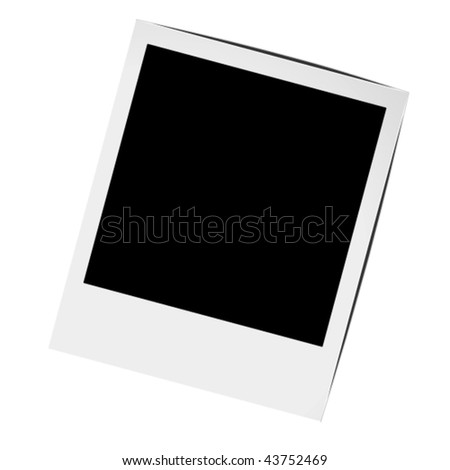 photo frame in vector art