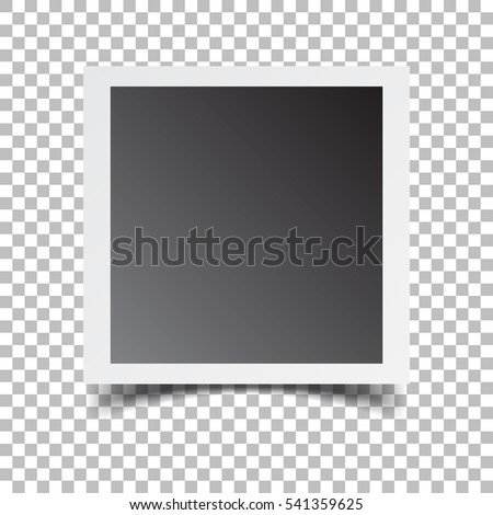 photo frame on isolated