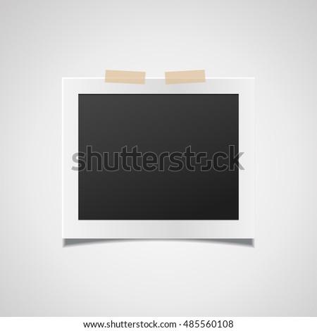 Photo frame. Photo frame vector. Photo frame eps10.