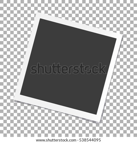 photo frame with shadow on...