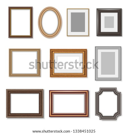 photo frames and ornate picture