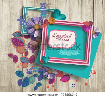 photo frames & scrapbook elements