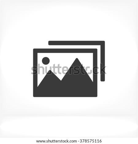 photo icon  photo icon flat