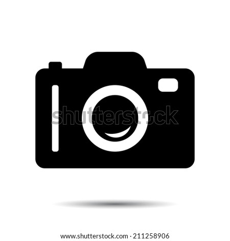 Photo or Camera Icon. Vector