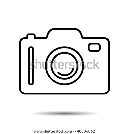Photo or Camera Icon. Vector photography