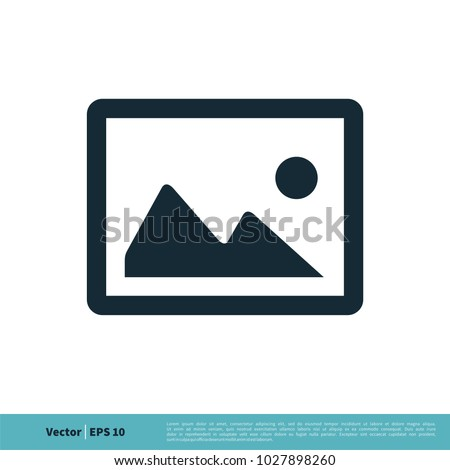 Photo Picture Image Icon Vector Logo Template