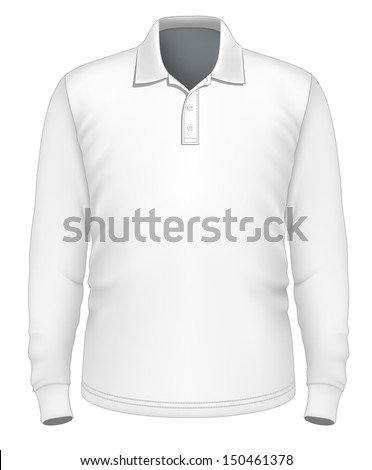 easy shirt design royalty free mens long sleeve polo shirt design 174767183 stock