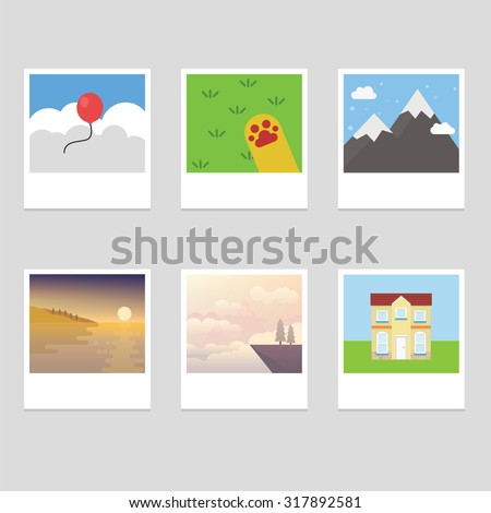 photo stack collection with