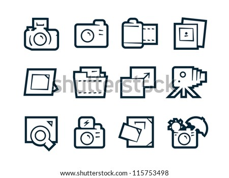 Photo Studio Icons