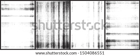 Photocopy textures. Set of 4 high quality textures