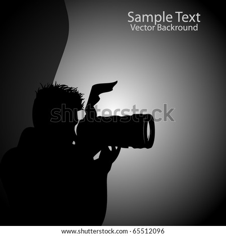 Photographer Background Vector