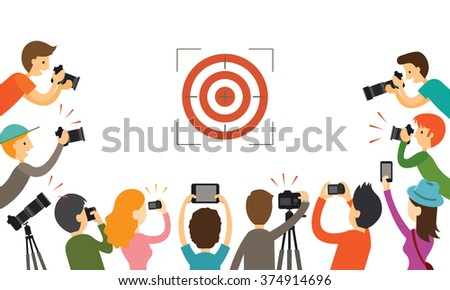 photographers aiming to target