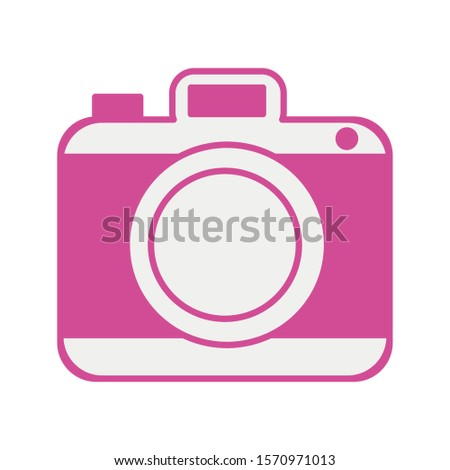 photographic camera device isolated icon vector illustration design