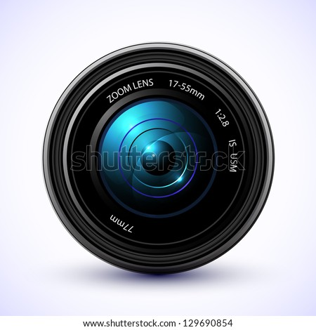 Photography background camera photo lens with flare