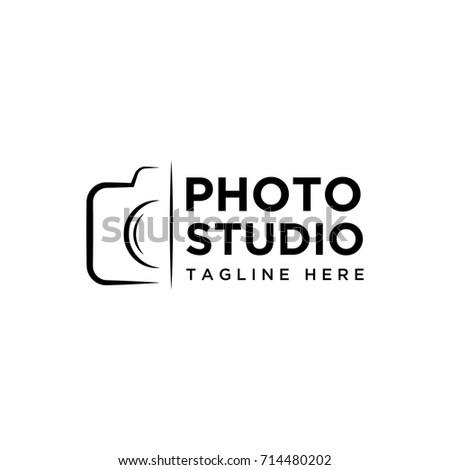 photography design logo template
