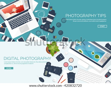 photography equipment with