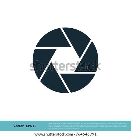 Photography Icon Vector Logo Template