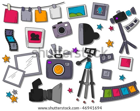 Photography Icons - Vector