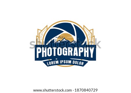 photography logo aerial