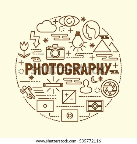photography minimal thin line