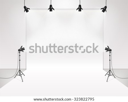 photography studio with