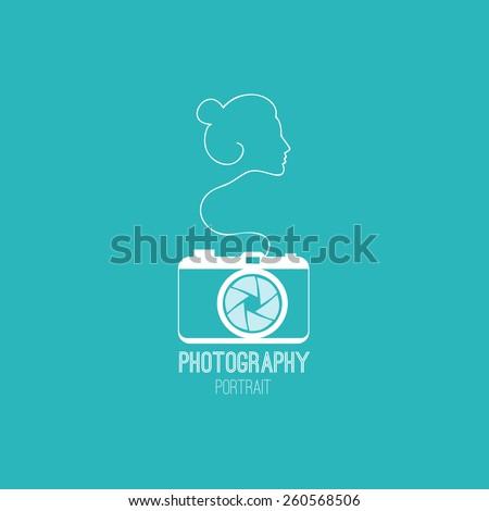 photos blue symbol icon with