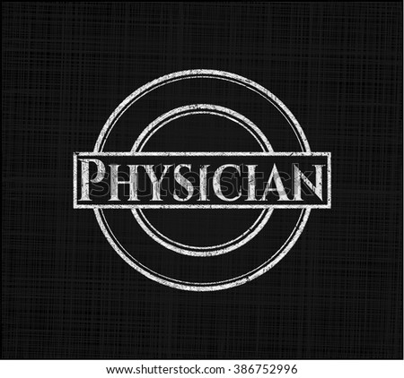 Physician chalk emblem
