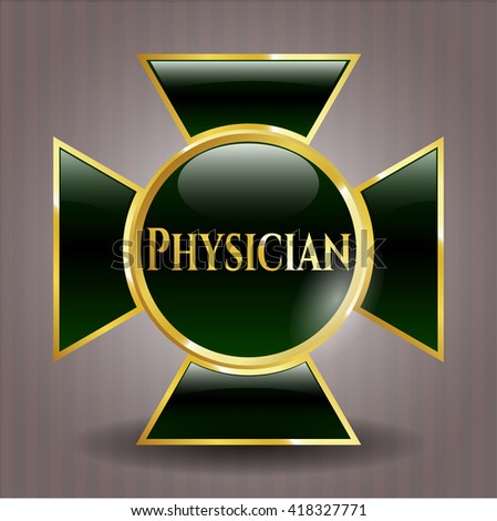 Physician gold badge