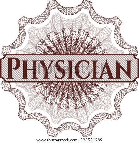 Physician linear rosette
